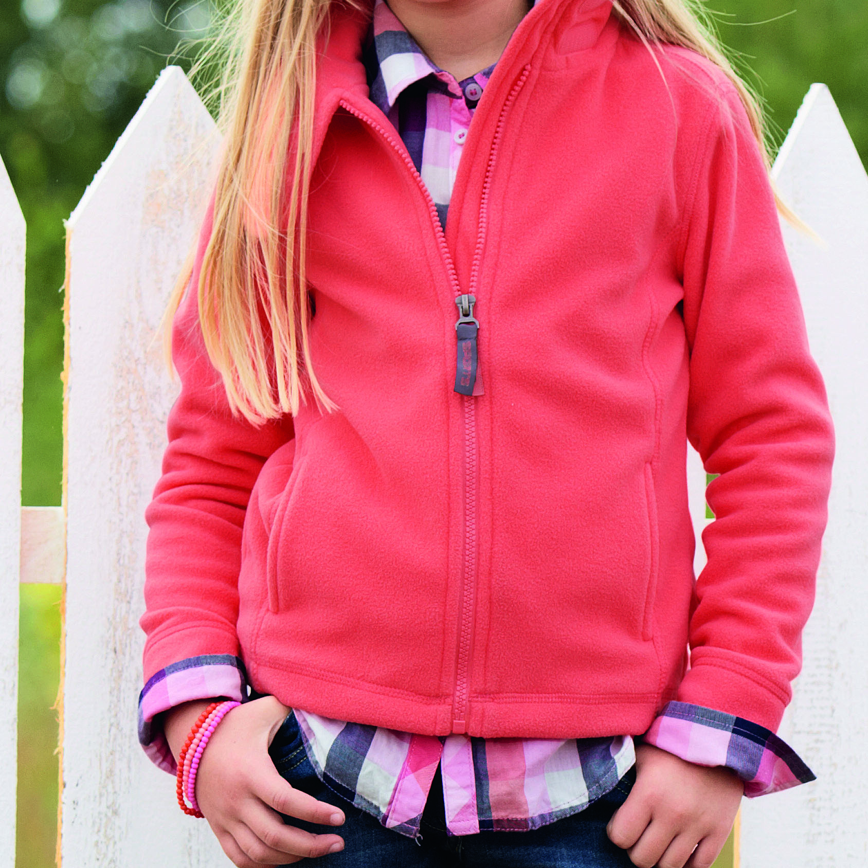 coupon codes fashion styles hot sales Girls Fleece Jacket | LZ Group