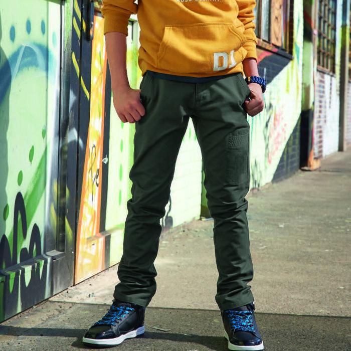 Boy's twill pants